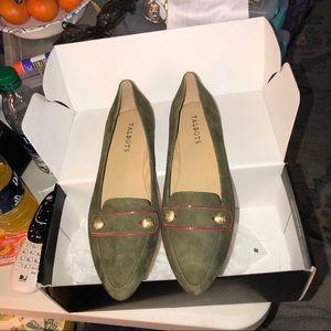 Talbots Francesca Button Shoes